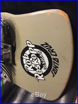 Santa Cruz Rob Roskopp Dust to Dust Skateboard deck