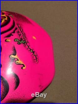 Santa Cruz Rob Roskopp Face Skateboard Deck Pink