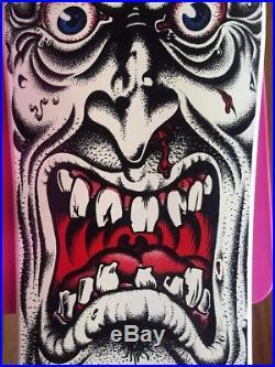 Santa Cruz Rob Roskopp Face Skateboard Rare Reissue 2012