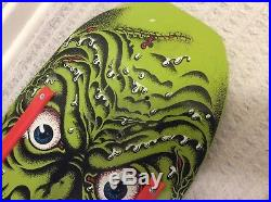 Santa Cruz Rob Roskopp Face skateboard deck Green Limited edition