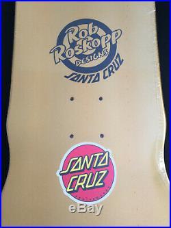 Santa Cruz Rob Roskopp Gold foil Ltd edition Vans Exclusive