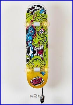 Santa Cruz Rob Roskopp Mashup Skateboard Deck Light Lamp Whiskertin