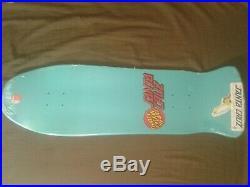 Santa Cruz Rob Roskopp Reissue Skateboard Deck RARE GREEN MONSTER -New in shrink