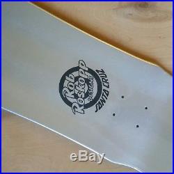 Santa Cruz Rob Roskopp Skateboard Deck Vans Exclusive Prismatic