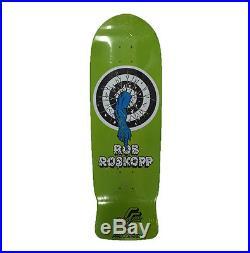 Santa Cruz Rob Roskopp Target 1 10.0 Reissue Collectable Skateboard Skate Deck