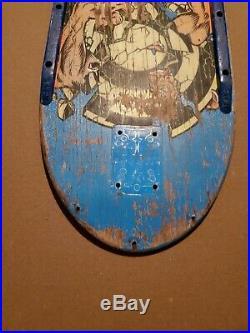 Santa Cruz Rob Roskopp Target Deck Vintage Skateboard