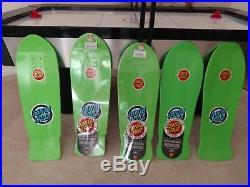 Santa Cruz Rob Roskopp Target Series 1-5 Skateboard Deck