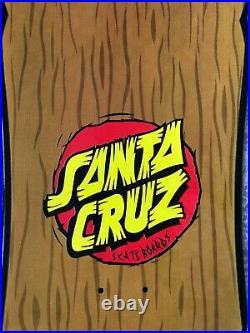 Santa Cruz Rob Roskopp Tiki Face Skateboard Deck Brand New Genuine Jim Phillips