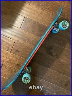 Santa Cruz Rob Roskopp reissue custom complete skateboard