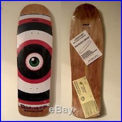 Santa Cruz Rob roskopp eye 2 nos skateboard vintage oldschool