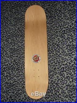 Santa Cruz Rockin Jelly Bean Sid Melvin skateboard deck RARE