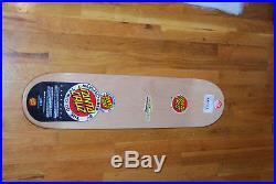 Santa Cruz Rockin' Jelly Bean Skateboard Deck Sid Melvin art print mondo
