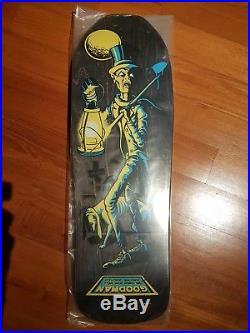 Santa Cruz Ross Goodman Grave Digger NOS Vintage Skateboard Deck 30 Yrs Reissue