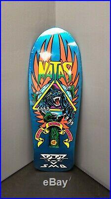 Santa Cruz SMA Natas Kaupas Reissue Skateboard Deck Blue Panther