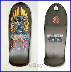 Santa Cruz SMA Santa Monica Airlines Natas Panther Reissue Skateboard Grey /Gold