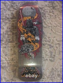 Santa Cruz STAR WARS Jason Jessee Neptune Skateboard Deck New in shrink Vader