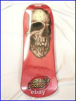 Santa Cruz STREET CREAP Old 30th anniversary Shaped Skateboard Deck 9.8 inch