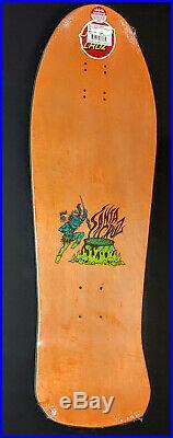 Santa Cruz Salba Steve Alba Tiger Fade Reissue Skateboard Deck New in shrink