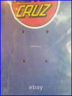 Santa Cruz Salba Witch Doctor Reissue Skateboard Deck New