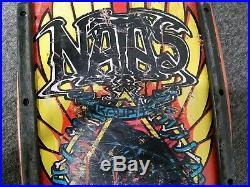 Santa Cruz Santa Monica Airlines Natas Kaupas Skateboard RARE 1980's Original