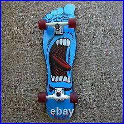 Santa Cruz Screaming Foot Skateboard Right Foot Bullet Trucks