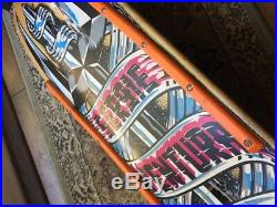 Santa Cruz Sergie Ventura Trident Skateboard Deck Team Hosoi(powell OG vision)