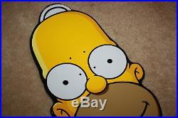 Santa Cruz Simpsons Homer Simpson Deck 10.1 x 31.2 Skateboard Unused R515