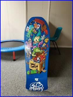 Santa Cruz Simpsons Jeff Grosso Toybox Skateboard Deck
