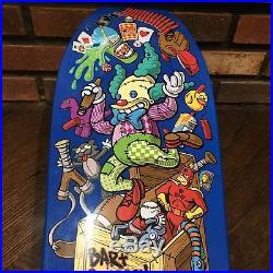 Santa Cruz Simpsons Skateboard Deck Jeff Grosso Krusty Toy Box Style