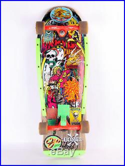 Santa Cruz Skateboard Claus Grabke Holz ca. 25 Jahre alt Oldschool