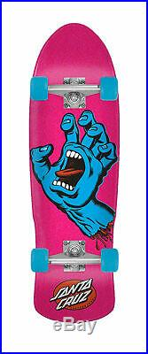 Santa Cruz Skateboard Complete Screaming Hand Pink/Blue 9.42 x 31.8 Old School