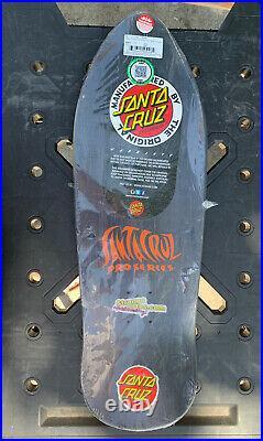 Santa Cruz Skateboard Deck Jason Jessee Reissue Sun God 9.9in Board