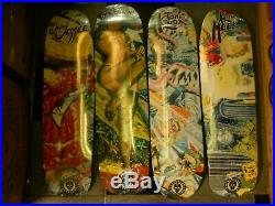 Santa Cruz Skateboard Deck Set Ltd Release Robert Williams 4 Decks FULL SET