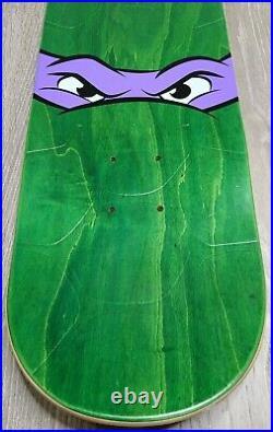 Santa Cruz Skateboard Deck Teenage Mutant Ninja Turtles Donatello 8.125