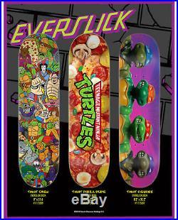 Santa Cruz Skateboard Decks Teenage Mutant Ninja Turtles 8-Deck Collection