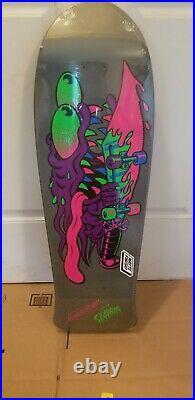 Santa Cruz Skateboard Keith Meek Slasher Blacklight