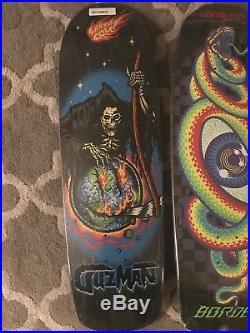 Santa Cruz Skateboard Lot Asta Borden Guzman Winkowski Preissue