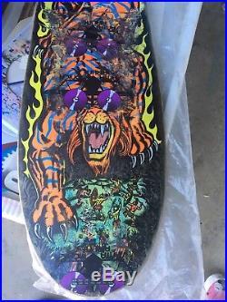Santa Cruz Skateboard Og Salba Tiger Steve Alba Personal Rider