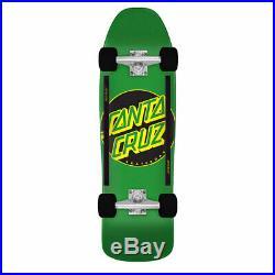 Santa Cruz Skateboard Old School Cruiser Other Dot Green 9.35 x 31.7