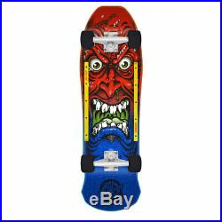 Santa Cruz Skateboard Old School Cruiser Roskopp Face Red/Blue 9.5 x 31