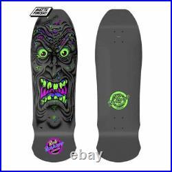 Santa Cruz Skateboard Reissue Rob Roskopp FACE Black light Deck 9.975 X 30.125