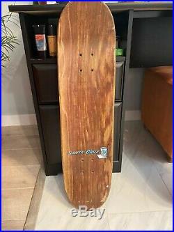 Santa Cruz Skateboard Ron Whaley Vintage