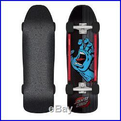 Santa Cruz Skateboard Screaming Hand Metal Stripe 9.35 x 31.7 Old School Shape