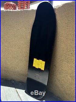 Santa Cruz Skateboard Tom Knox Cop Beater / Black Flag Black Reissue 9.75 NOS
