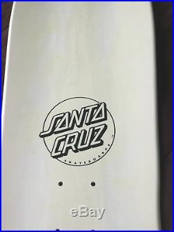Santa Cruz Skateboards Deck Corey O Brien White, Reissue