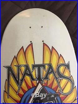 Santa Cruz Skateboards -Designarium Natas Panther Autographed Skateboard Deck