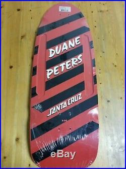 Santa Cruz Skateboards Duane Peters Reissue Deck