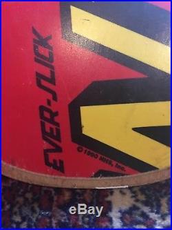Santa Cruz Skateboards Everslick Skate Deck OG Vintage 1990s