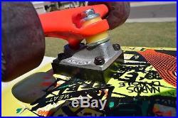 Santa Cruz Skateboards Jeff Kendall Graffiti 30 Years Limited Run RARE