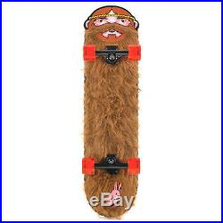 Santa Cruz Skateboards Jeremy Fish Weird Beard Cruiser Complete Skateboard